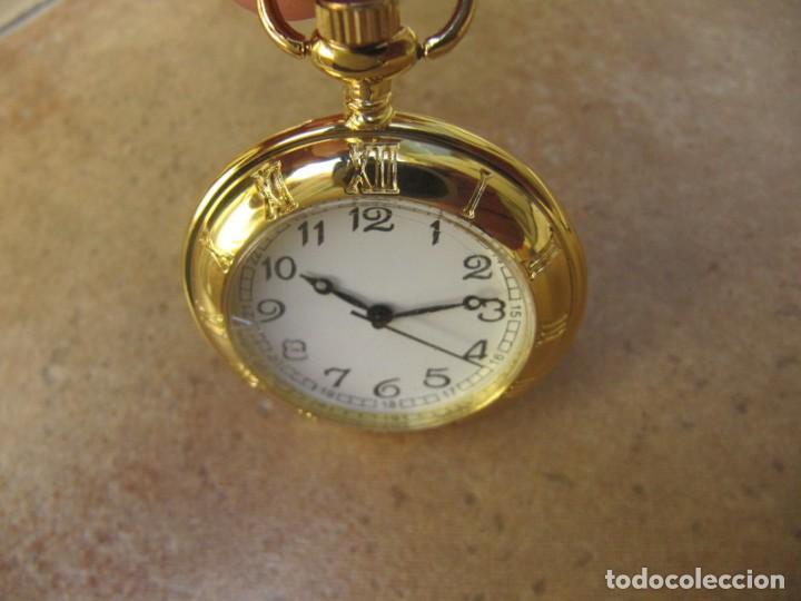 Relojes de bolsillo: RELOJ DE BOLSILLO CON MAQUINARIA DE CALIDAD CON SISTEMA DE RUEDA - Foto 7 - 163435890