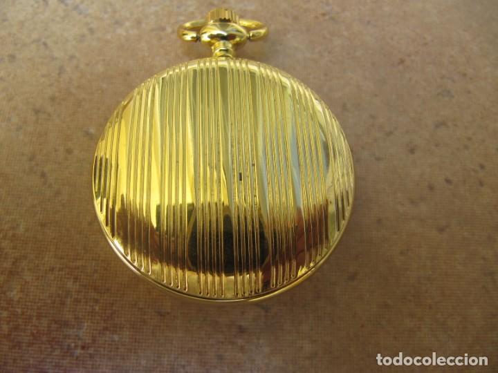 Relojes de bolsillo: RELOJ DE BOLSILLO CON MAQUINARIA DE CALIDAD CON SISTEMA DE RUEDA - Foto 8 - 163435890