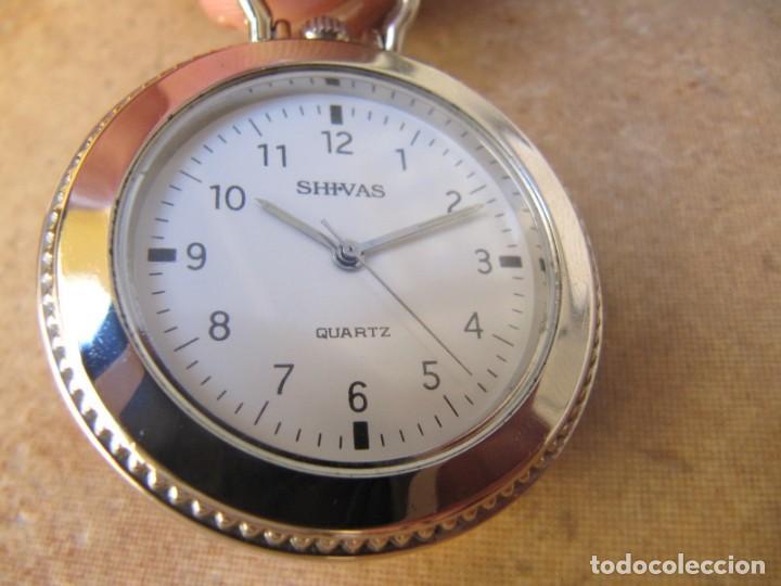 Relojes de bolsillo: RELOJ DE BOLSILLO CON MAQUINARIA MIYOTA - Foto 3 - 163438562
