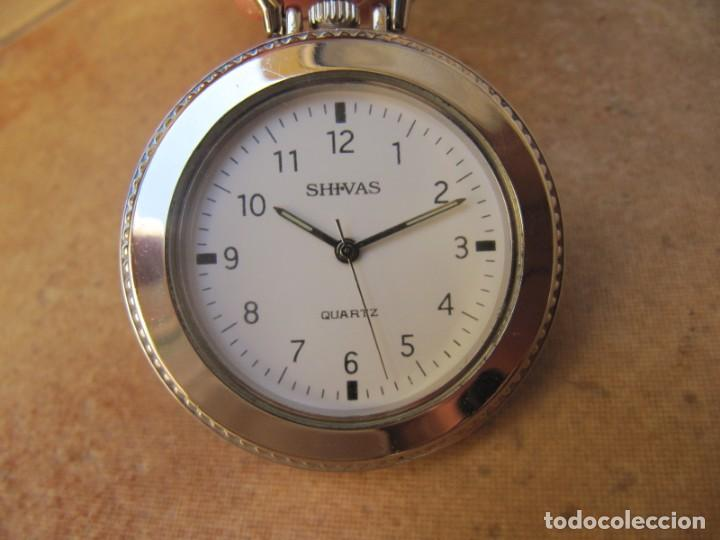 Relojes de bolsillo: RELOJ DE BOLSILLO CON MAQUINARIA MIYOTA - Foto 4 - 163438562