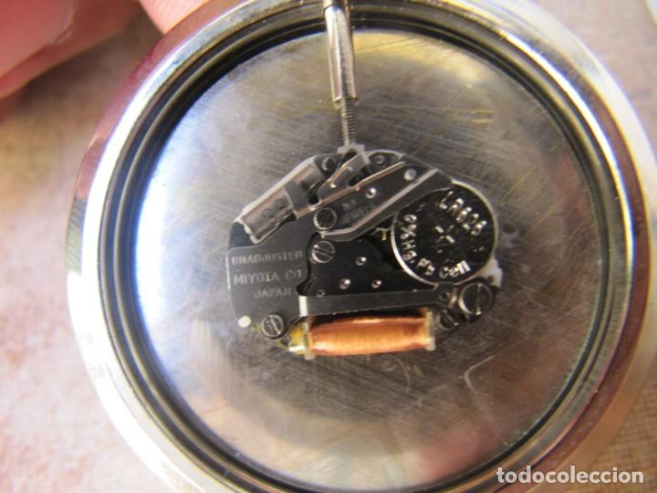 Relojes de bolsillo: RELOJ DE BOLSILLO CON MAQUINARIA MIYOTA - Foto 13 - 163438562