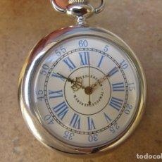 Relojes de bolsillo: RELOJ DE BOLSILLO CON MAQUINARIA CON SISTEMA BOBINADO. Lote 163439450