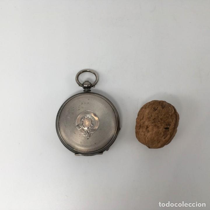 Relojes de bolsillo: Reloj de bolsillo en plata de ley - Foto 3 - 163718762