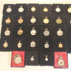 Relojes de bolsillo: COLECCION 28 RELOJES BOLSILLO. Lote 164194478