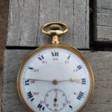 Relojes de bolsillo: RELOJ DE BOLSILO ORO. Lote 164744310