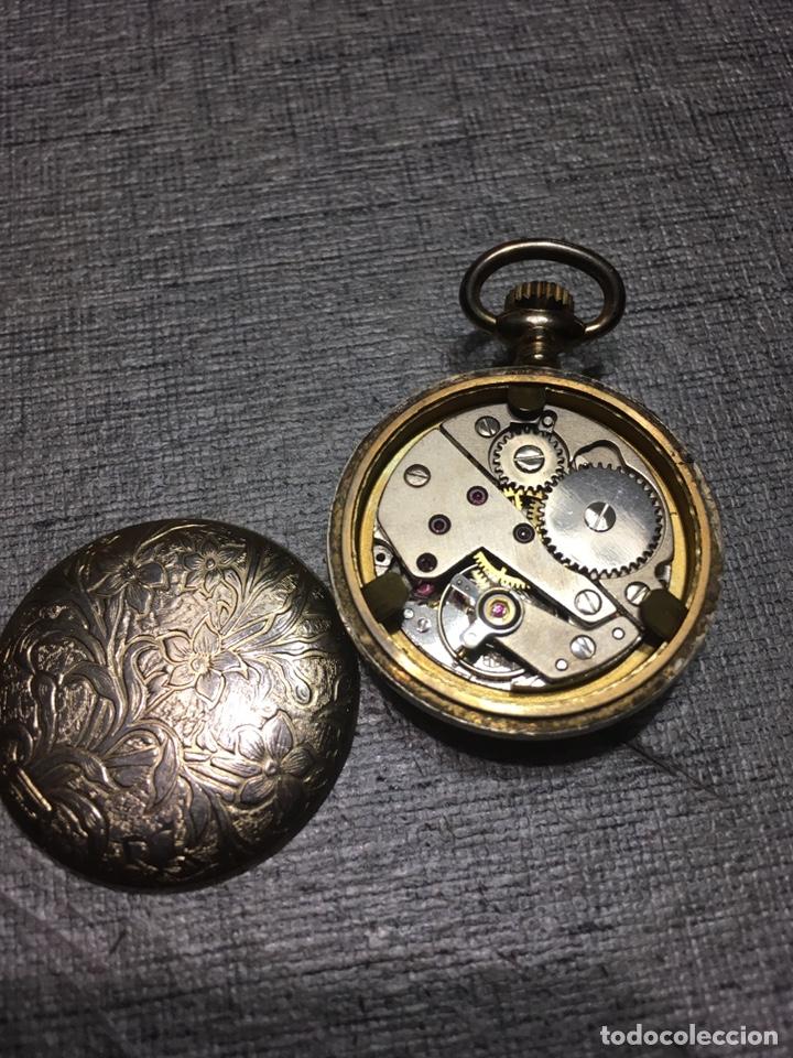Relojes de bolsillo: RELOJ BOLSILLO THERMIDOR A CUERDA FUNCIONA - Foto 2 - 164757026