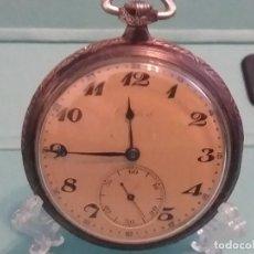 Relojes de bolsillo: PRESTIGIOSO RELOJ SUIZO CORTEBERT CAJA PLATA CAL. 492, PRECIOSO. VER FOTOS. Lote 164931030