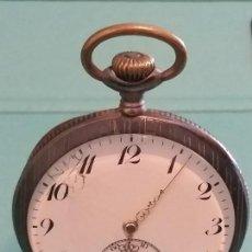 Relojes de bolsillo: ANTIGUO RELOJ ZENITH PRECIOSO RELOJ SUIZO, PRECIOSA MÁQUINA, 50 MM. VER FOTOS. Lote 164932842