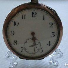 Relojes de bolsillo: RELOJ ALTA CALIDAD GRAND PRIX 1900 ZENITH CAJA PLATA 52 MM. VER FOTOS. Lote 164951746