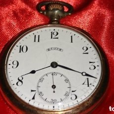 Relojes de bolsillo: RELOJ LEGENDARIOA S.U.F. GRAND PRIX BERNA 1914 PLATA IMPRESIONANTE ESTADO CONSERVACIÓN. VER FOTOS. Lote 164954946