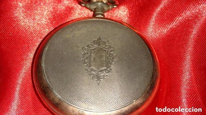 Relojes de bolsillo: RELOJ LEGENDARIOA S.U.F. GRAND PRIX BERNA 1914 PLATA IMPRESIONANTE ESTADO CONSERVACIÓN. VER FOTOS - Foto 4 - 164954946
