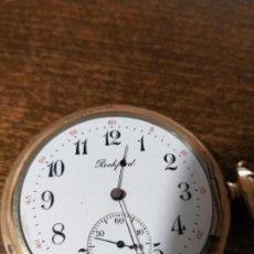 Relojes de bolsillo: ESPECTACULAR RELOJ BOLSILLO ROCKFORD GOLD FILLED , VER FOTOS. Lote 164955466