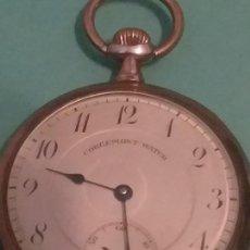 Relojes de bolsillo: ESPECTACULAR RELOJ BOLSILLO CORGEMONT WATCH CO. EN PERFECTA CONSERVACIÓN. VER FOTOS. Lote 164959858