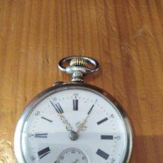 Relojes de bolsillo: RELOJ ANTIGUO, FUNCIONA PERFECTO. Lote 165181614