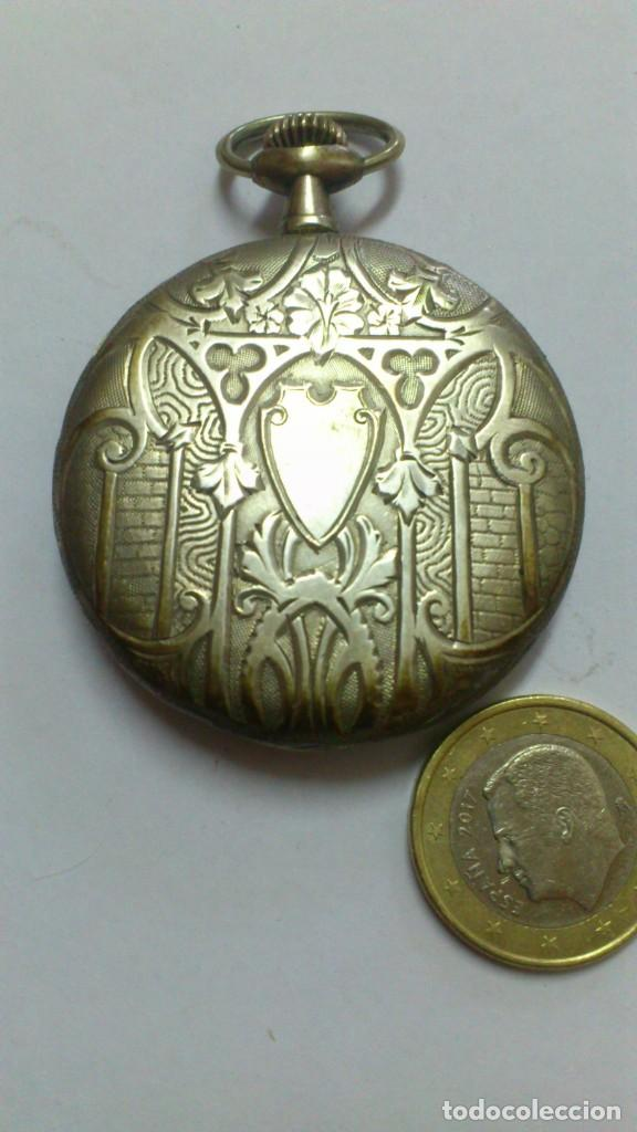 Relojes de bolsillo: reloj - es de bolsillo de cuerda , VER FOTOS , SE ADMITEN OFERTAS ... - Foto 3 - 165273530