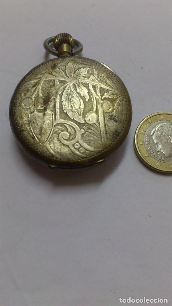 Relojes de bolsillo: reloj - es de bolsillo de cuerda , VER FOTOS , SE ADMITEN OFERTAS ... - Foto 4 - 165273626