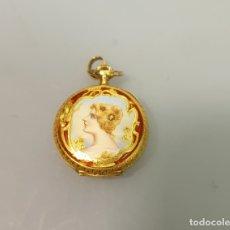 Relojes de bolsillo: RELOJ BOLSILLO CARGA MANUAL EN ORO 750/1000 18K. Lote 165351470