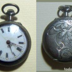 Relojes de bolsillo: VIEJO RELOJ DE BOLSILLO ARGENTA DEPOSE. Lote 165360114