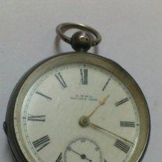 Relojes de bolsillo: RELOJ - ES DE BOLSILLO DE CUERDA , VER FOTOS , SE ADMITEN OFERTAS .... Lote 165415218