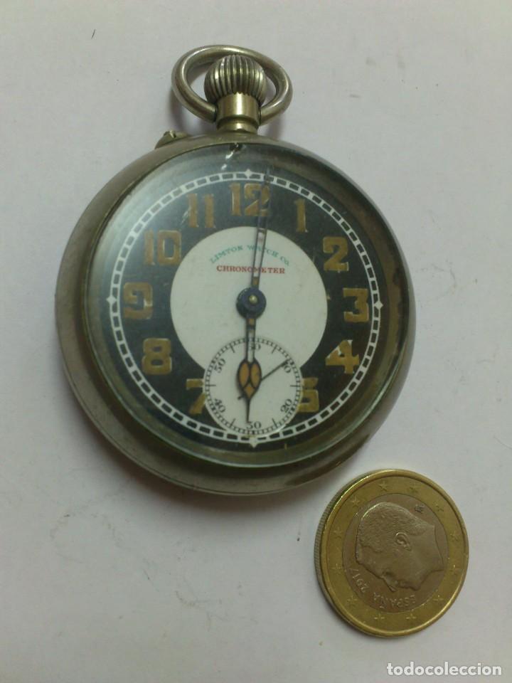 RELOJ - ES DE BOLSILLO DE CUERDA , VER FOTOS , SE ADMITEN OFERTAS ... (Relojes - Bolsillo Carga Manual)