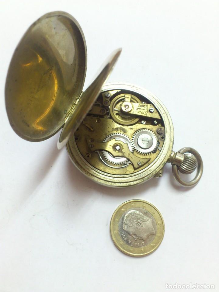 Relojes de bolsillo: reloj - es de bolsillo de cuerda , VER FOTOS , SE ADMITEN OFERTAS ... - Foto 5 - 165415538