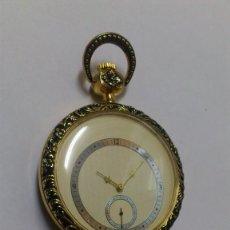 Relojes de bolsillo: RELOJ - ES DE BOLSILLO DE CUERDA , VER FOTOS , SE ADMITEN OFERTAS ... . Lote 165416654
