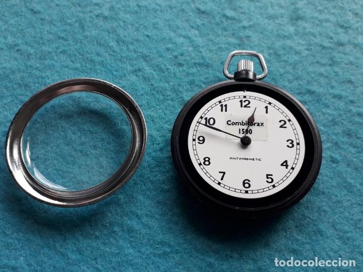 Relojes de bolsillo: Reloj de bolsillo Combitorax 1500. Funcionando - Foto 3 - 165470890
