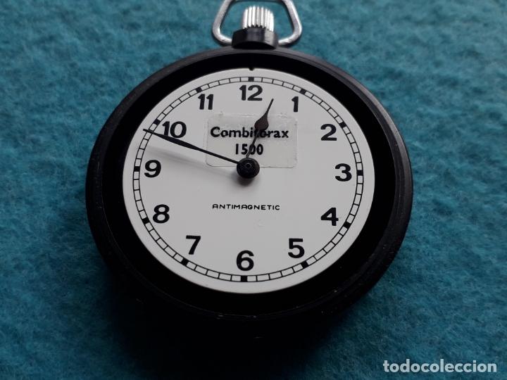 Relojes de bolsillo: Reloj de bolsillo Combitorax 1500. Funcionando - Foto 4 - 165470890