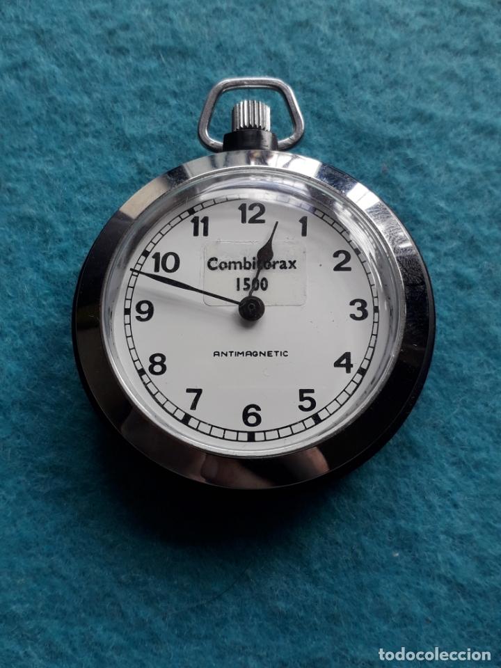 RELOJ DE BOLSILLO COMBITORAX 1500. FUNCIONANDO (Relojes - Bolsillo Carga Manual)