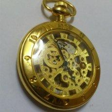 Relojes de bolsillo: RELOJ - ES DE BOLSILLO DE CUERDA , VER FOTOS , SE ADMITEN OFERTAS ... . Lote 165683290