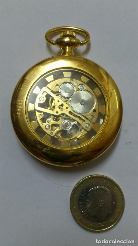 Relojes de bolsillo: reloj - es de bolsillo de cuerda , VER FOTOS , SE ADMITEN OFERTAS ... - Foto 2 - 165683290