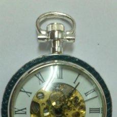 Relojes de bolsillo: RELOJ - ES DE BOLSILLO DE CUERDA , VER FOTOS , SE ADMITEN OFERTAS ... . Lote 165684018