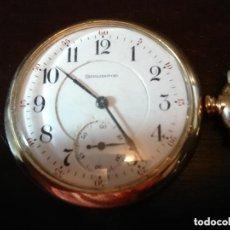 Relojes de bolsillo: GRAN RELOJ BOLSILLO BURLNGTON WATCH COMPANY, GRAN CALIDAD. VER FOTOS. Lote 165768846