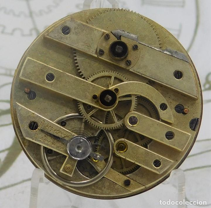 Relojes de bolsillo: RELOJ BOLSILLO 3 TAPAS-PRECIOSA ESFERA-CIRCA 1860-FUNCIONANDO - Foto 4 - 165784978