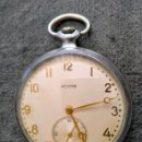 Relojes de bolsillo: ANTIGUO RELOJ DE BOLSILLO RUSO DE LA MARCA MOLNIJA MODELO ИРСКА DE 1957. Lote 165826586
