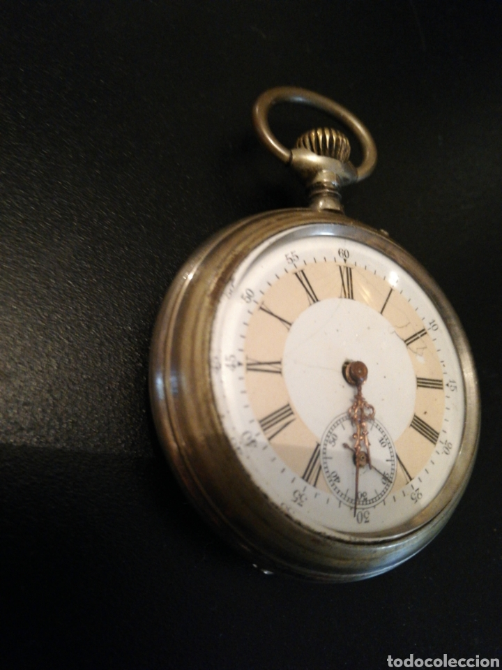 ec624a1b9bbf 4 fotos ESPECTACULAR RELOJ DE BOLSILLO AÑO 1900 FUNCIONA (Relojes -  Bolsillo Carga Manual) ...