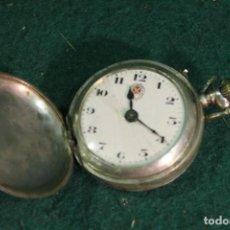 Relojes de bolsillo: RELOJ, BOLSILLO, CARGA MANUAL, ROSCKOPF FRERE, DE PLATA. Lote 166006210