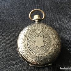 Relojes de bolsillo: RELOJ DE BOLSILLO URANIA. PLATA DE 800.. Lote 166152082
