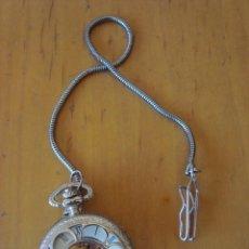 Relojes de bolsillo: RELOJ DE BOLSILLO COLOR PLATEADO. Lote 166193382