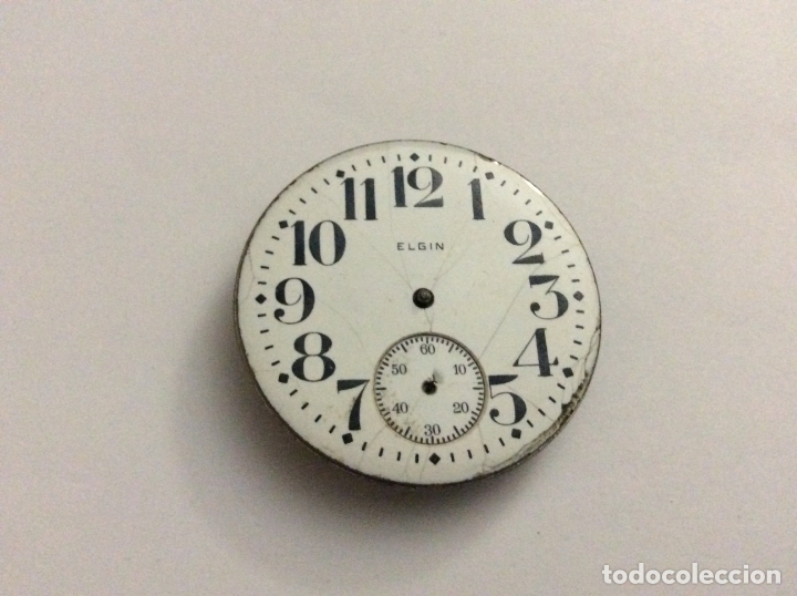 8dbe194a8 4 fotos RELOJ DE BOLSILLO ELGIN CON ESFERA DIAM. 43 MM (Relojes - Bolsillo  Carga Manual ...