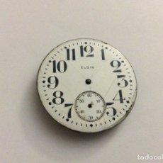 Relojes de bolsillo: RELOJ DE BOLSILLO ELGIN CON ESFERA DIAM. 43 MM. Lote 166211294