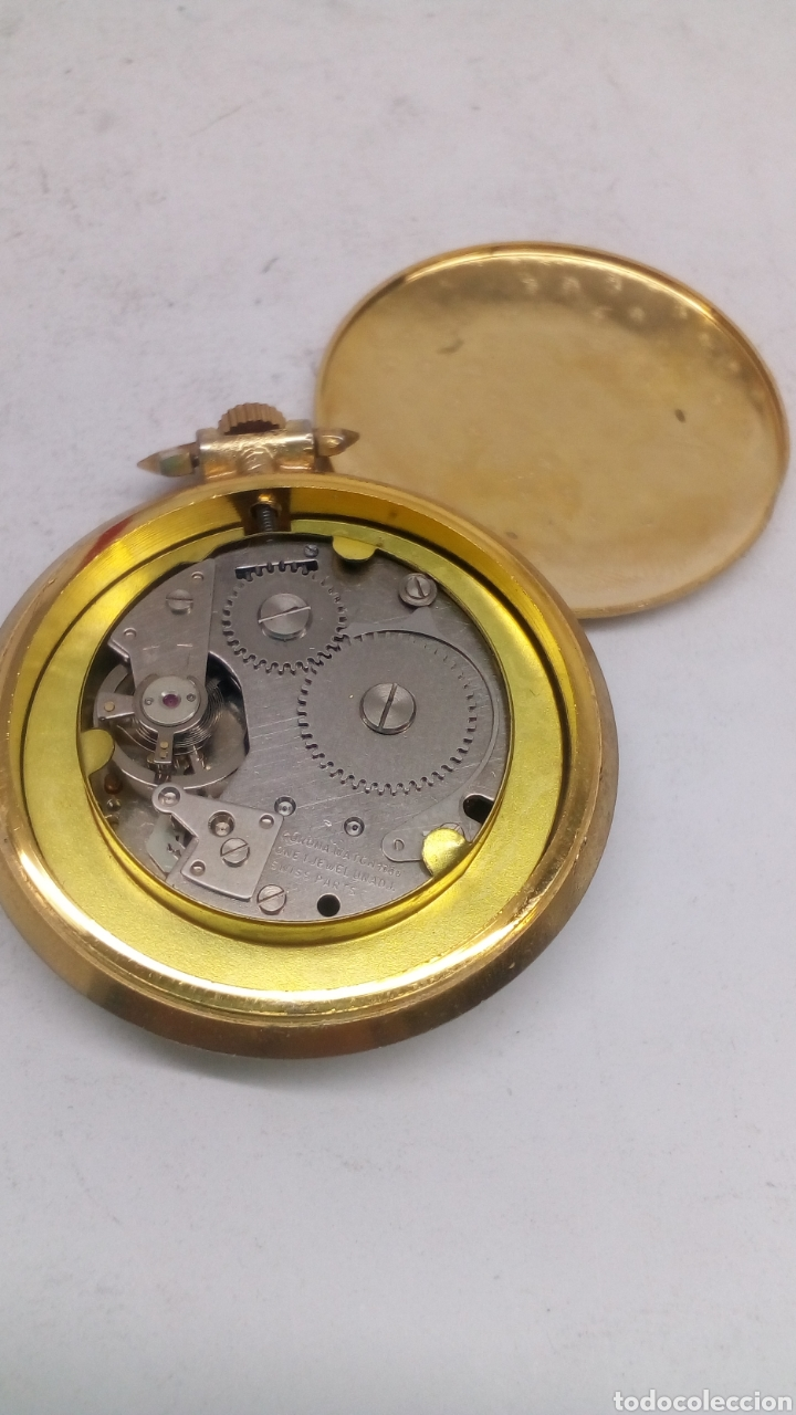 9c58df30ef80 Reloj de bolsillo carga manual para piezas - España - Reloj de bolsillo  carga manual para