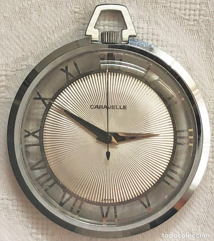 RELOJ DE BOLSILLO ART DECO (Relojes - Bolsillo Carga Manual)