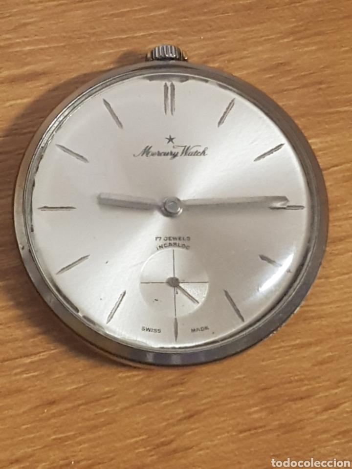 RELOJ BOLSILLO MERCURY WATCH PARA REPARAR (Relojes - Bolsillo Carga Manual)