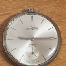 Relojes de bolsillo: RELOJ BOLSILLO MERCURY WATCH PARA REPARAR. Lote 166723921