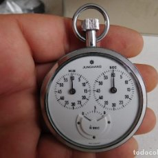 Relojes de bolsillo: CRONÓMETRO JUNGHANS 1/10 SEGUNDO. Lote 166762550