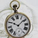 Relojes de bolsillo: GIGANTE RELOJ DE BOLSILLO DOXA(65 MM.)-CIRCA 1910-FUNCIONANDO. Lote 166890132