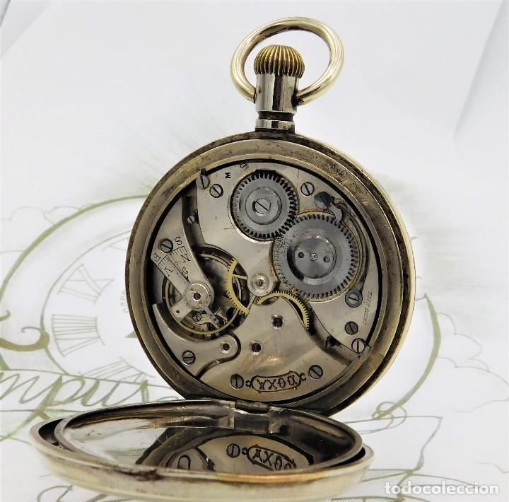 Relojes de bolsillo: GIGANTE RELOJ DE BOLSILLO DOXA(65 MM.)-CIRCA 1910-FUNCIONANDO - Foto 3 - 166890132