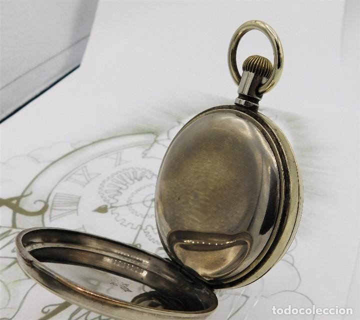 Relojes de bolsillo: GIGANTE RELOJ DE BOLSILLO DOXA(65 MM.)-CIRCA 1910-FUNCIONANDO - Foto 8 - 166890132