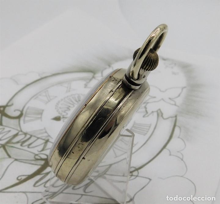 Relojes de bolsillo: GIGANTE RELOJ DE BOLSILLO DOXA(65 MM.)-CIRCA 1910-FUNCIONANDO - Foto 9 - 166890132